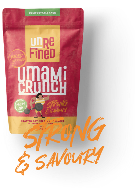 Umami Crunch Pouch - Strong and Savoury